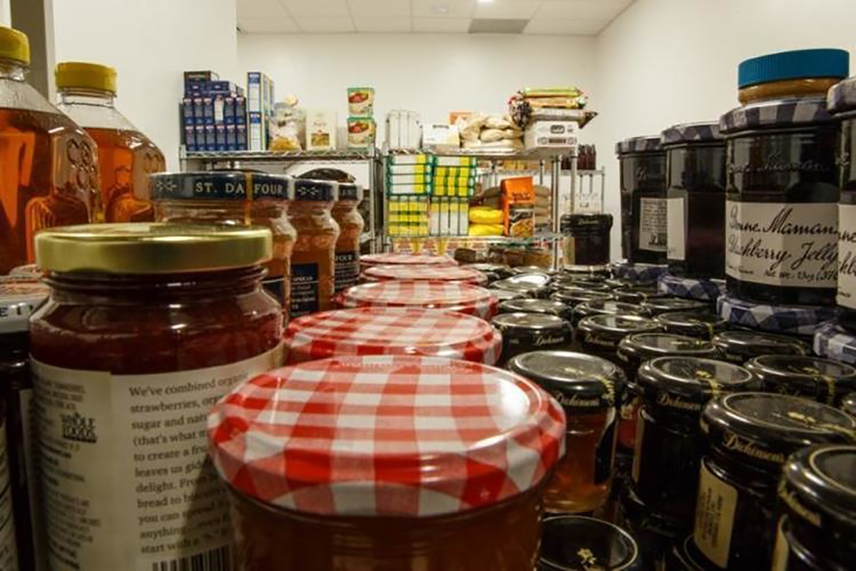 The Student Food Pantry is open to college students in the Eugene area